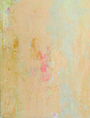 Painting - Untitled Abstract - Soft Blue by Kathleen Grace