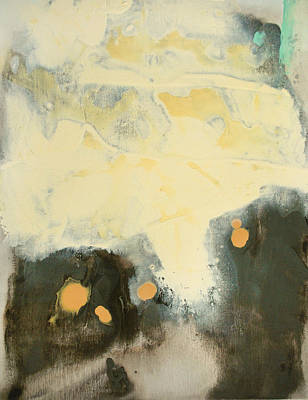 Painting - Untitled Abstract - Umber And Ivory by Kathleen Grace