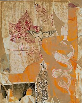 Painterly Drawing - Untitled by Alexandra Sheldon
