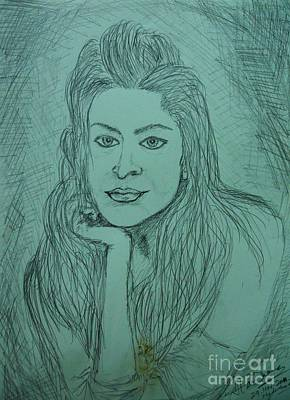 Drawing - Untitled by Hari Om Prakash