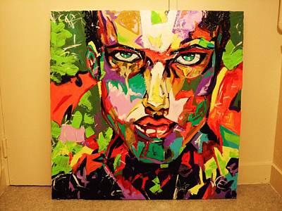 Character Portraits Painting - Untitled by Jason  Ebrahimi