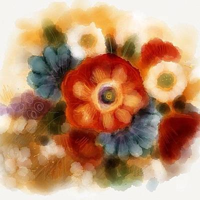 Bouquet Photograph - Untitled by Leisa Artus