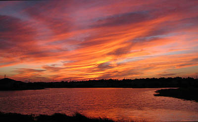 Art Print featuring the photograph Untitled Sunset-2 by Bill Lucas