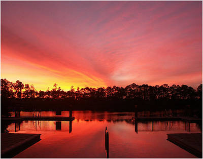 Art Print featuring the photograph Untitled Sunset-3 by Bill Lucas