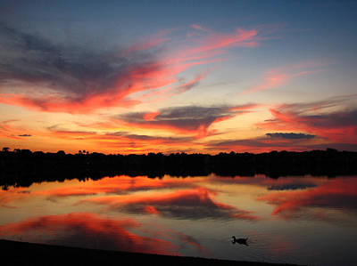 Art Print featuring the photograph Untitled Sunset-4 by Bill Lucas