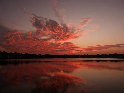 Untitled Sunset-9 Art Print