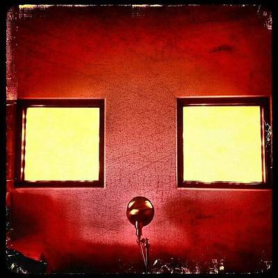 Fineart Photograph - Untitled Wall & Windows by Paul Cutright