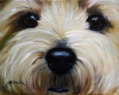 Up Close And Personal IIi Art Print by Mary Sparrow