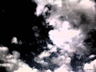 Photograph - Up In The Clouds 4 by George Pedro