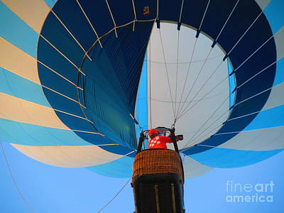Photograph - Up Into The Blue. Oshkosh 2012. by Ausra Huntington nee Paulauskaite