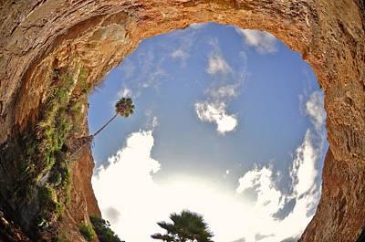 Photograph - Up The Cliff by Matt MacMillan