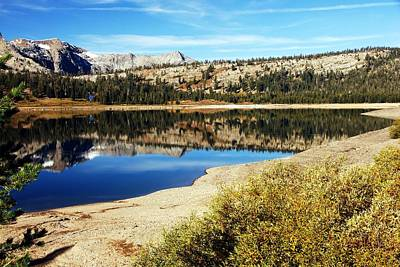 Photograph - Upper Blue Lake Mirror 2 by Michael Courtney