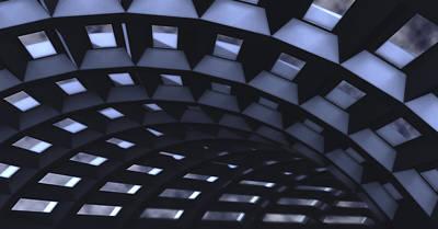 Observation Digital Art - Upper Deck by Richard Rizzo