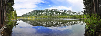 Upper Echo Lake Sierra Lake Tahoe Original