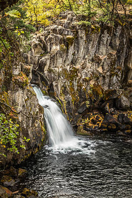 Art Print featuring the photograph Upper Falls Mccloud River by Randy Wood