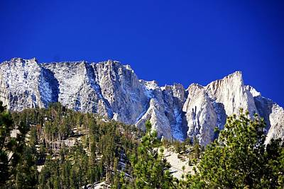 Photograph - Upper Lee Vining Canyon by Michael Courtney