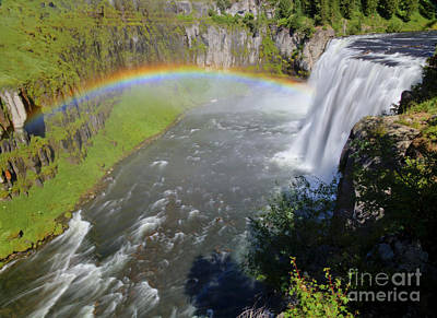 Photograph - Upper Mesa Rainbow by Idaho Scenic Images Linda Lantzy