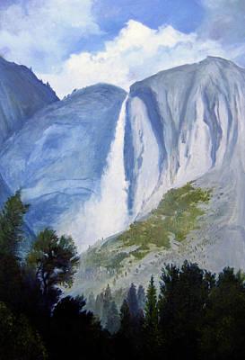 Robert Duvall Painting - Upper Yosemite Falls by Robert Duvall