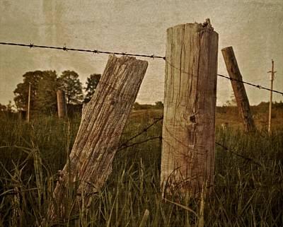 Telephone Poles Photograph - Uprights by Odd Jeppesen