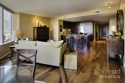 Upscale Photograph - Upscale Condo Interior by Andersen Ross
