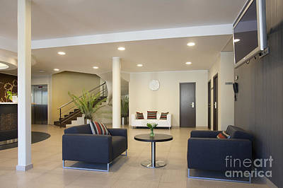 Upscale Photograph - Upscale Hotel Lobby by Jaak Nilson