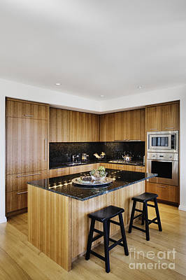 Upscale Photograph - Upscale Kitchen Interior by Andersen Ross