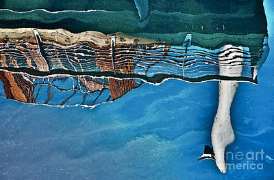 Upside-down World Series 5 Art Print by Heiko Koehrer-Wagner