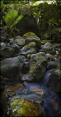 Photograph - Upstream To The Bridge by Joe Macrae
