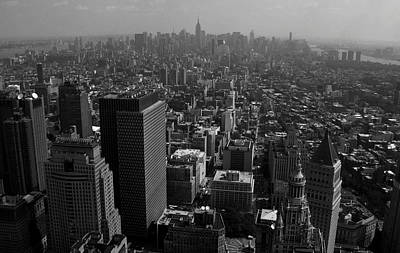 Photograph - From The Roof Of 8 Spruce Street Nyc by Christopher Kirby