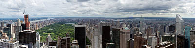 Photograph - Uptown New York And Central Park by Gary Eason