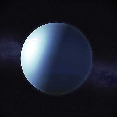 Uranus Digital Art - Uranus, Artwork by Andrzej Wojcicki