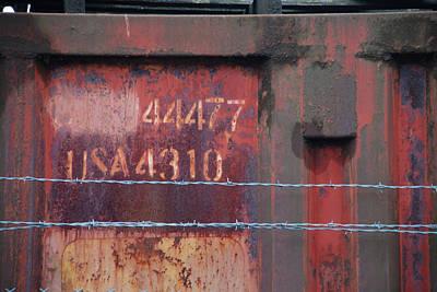 Photograph - Urban - Barrier by Kathleen Grace