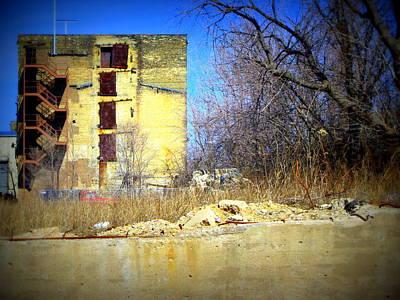 Photograph - Urban Box by Anita Burgermeister