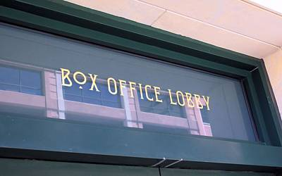 Photograph - Urban Box Office by Lynnette Johns