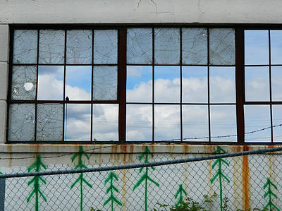 Photograph - Urban Decay - What's Still Standing by Kathleen Grace