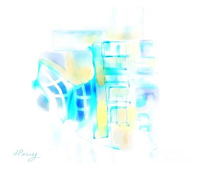 Digital Art - Urban Decay by D Perry