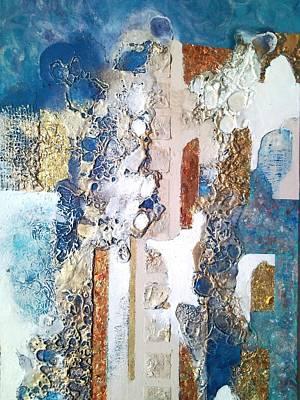 Demolition Mixed Media - Urban Ephemerality by Lynda Stevens