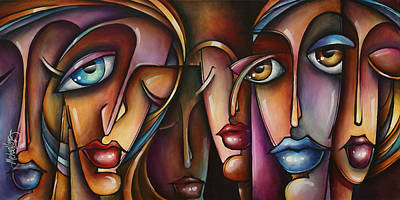 Mood Painting - Urban Expressions C566 by Michael Lang