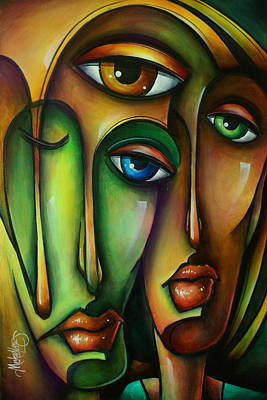 Urban Expressions Painting - Urban Expressions by Michael Lang