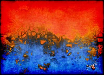Painting - Urban Heat by The Art Of JudiLynn