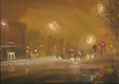 Urban Mist 1 Art Print by Paul Mitchell