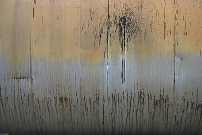 Photograph - Urban Oil Drum Abstract by Kathleen Grace