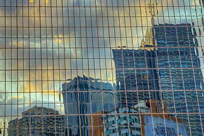 Urban Reflections Art Print by Drew Castelhano