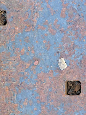 Photograph - Urban Steel Abstract by Kathleen Grace