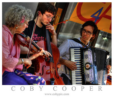 Photograph - Urbana Trio by Coby Cooper