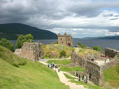 Photograph - Urquhart Castle 1 by Keith Stokes