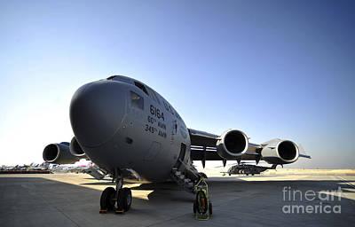 U.s. Air Force C-17 Globemaster IIi Art Print