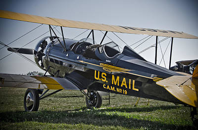 Photograph - U.s. Airmail by Eric Miller