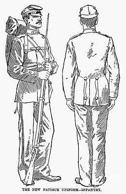 U.s. Army: Fatigues, 1882 Art Print