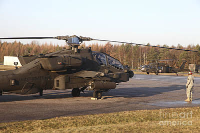 Kids Cartoons - U.s. Army Helicopters At The Letzlingen by Timm Ziegenthaler